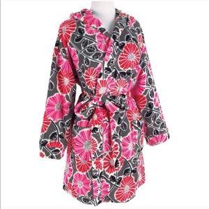 Vera Bradley Cherry Blossom Hooded Robe